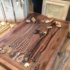 Interesting display & signage Lisa Jill Jewelry