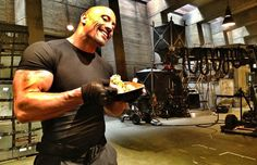 To become a god, Dwayne Johnson had to eat like one. The meal plan that got him Hercules strong.