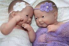 Flo.te's Zwillinge Mona + Moni von Berenguer Restposten Reborn