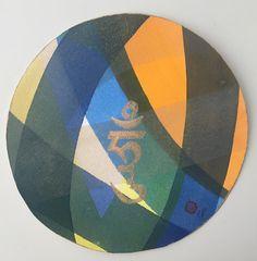 Mandala in watercolour Hung