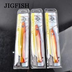 Jigfash Metal Jig Fishing Lure Lake 3pcs180g 150g 130g Integrated Bait Artificial Lures 3D Eyes For Fishing Lures Metal Jf-Tb003