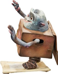 Animation Art:Puppet, The Boxtrolls Shoe Original Animation Puppet (LAIKA,2014)....