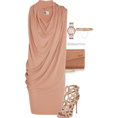 A fashion look from November 2015 featuring Lanvin dresses, Giuseppe Zanotti ankle booties and Jimmy Choo clutches. Browse and shop related looks.
