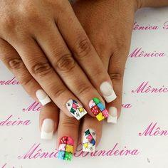 Nail Manicure, Toe Nails, Diva Nails, Stylish Nails, Nails Inspiration, Nail Colors, Nail Art Designs, Hair Beauty, My Favorite Things
