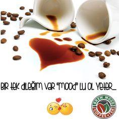 "Bugünkü ""mood"" umuz aşk... www.brewmood.com.tr #brewmood #coffee #tea #love #14şubat"