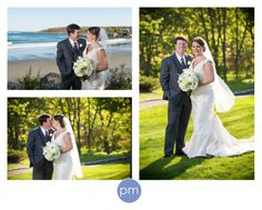 There are so many great places to take wedding photos in York, Maine that it's hard to get to them all! www.mcnamaraphoto.com