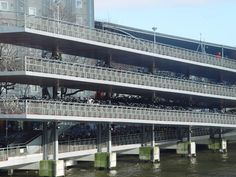 Bicycle Flat. VMX Architects. Amsterdam, Netherlands