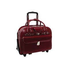 Women's McKlein Roseville ($270) ❤ liked on Polyvore featuring bags, luggage and red