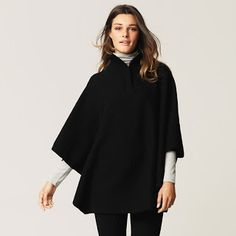 Wool Cape - Poncho-Style The White Company Fashion For Linda