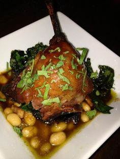 Love me some good duck leg confit!  At Public House 124!