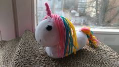Unicorn socks toy DIY