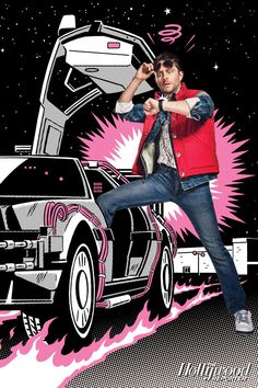 Comic-Con: See Chris Hardwick as Marty McFly From 'Back to the Future' - Hollywood Reporter | #BTTF #ComicCon #ChrisHardwick