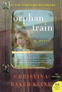 Orphan Train, a historical fiction novel by Christina Baker Kline. I loved it.