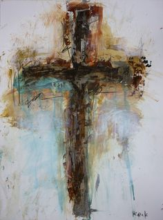 """Title: CA219 Size: 18"""" wide x 24"""" high x .1"""" deep Medium: Original abstract painting on fine art paper This listing is for the original painting, this is not a print. It is a one of a kind piece of ar                                                                                                                                                                                 More Religious Paintings, Cross Paintings, Religious Art, Art Paintings, Angel Paintings, Christian Paintings, Christian Art, Scripture Art, Bible Art"""
