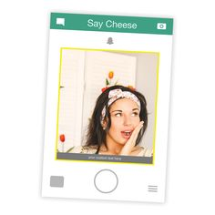 Snapchat Selfie Cutout Frame - Click to GET it now.