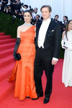 Colin Firth couple
