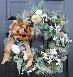 Winter wreath!