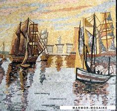 Mosaik CR262 Details Segelschiffe 3