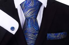 Online tie shop offering unique men's tie, cuff links, pocket squares and more. Tie Shop, Cool Ties, Different Patterns, Pocket Square, Silk Ties, Bows, Unique, Shopping, Collection
