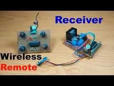 How to make Wireless Rc car/boat/helicopter 4 channel rf transmitter receiver at Rc Car Remote, Remote Control Boat, Radio Control, Electronics Basics, Electronics Projects, Arduino Projects, Car Transmitter, Rc Cars Diy, Airplanes