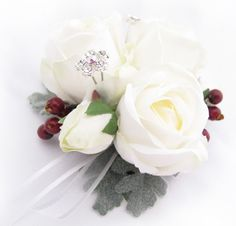 Corsage by Loveflowers. Find your perfect wedding flowers at www.loveflowers.com.au