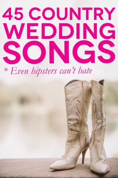 35 Country Flavored First Dance Wedding Songs