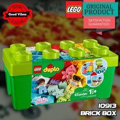 LEGO 10913 Brick Box DUPLO Mainan Edukasi Mobil Rumah Anak Original #thekingbricks #theking #thekingid #kingbricks #gvonline #uhappyihappy #tokolegoterpercaya #tokomainanoriginal #lego10913 Lego Duplo Sets, Lego City, Lego Star Wars, Jakarta, Toys, Activity Toys, Clearance Toys, Gaming, Games