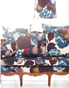 Boudoir Fabric, Multi by Studio Lisa Bengtsson - Available at the pattern collective
