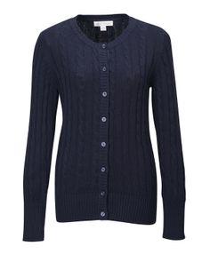 Womens 100% Cotton Cable Cardigan Rib Knit Sweater Tri mountain LB923 #Wovenshirt  #Sweater #fashion # RibKnit   #cardigan