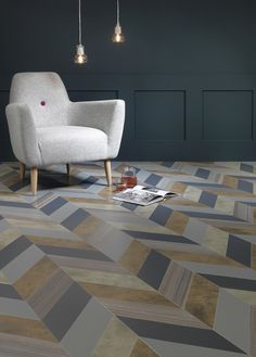 Make unique vinyl flooring patterns from www.michael-john.co.uk