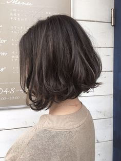 78 Bob and Lob Hairstyles That Will Make You Want Short Hair - Hairstyles Trends Short Curly Hair, Short Hair Cuts, Curly Hair Styles, Lob Hairstyle, Pretty Hairstyles, Shot Hair Styles, Dye My Hair, Love Hair, Hair Day