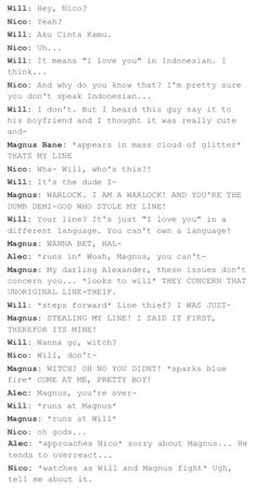 Malec and Solangelo THE BEST CROSSOVER IVE EVER SEEN