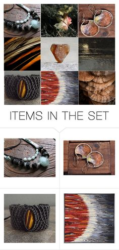 Features gorgeous finds by these wonderful artisans. Heart Beat, In A Heartbeat, Beats, Artisan, Collages, Totes, Polyvore, Designers, Stuff To Buy