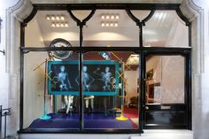 X-RAY WINDOW By Louboutin | High Fashion Storefront Retail Design