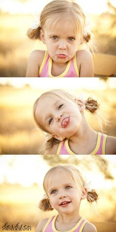 capture their real and silly personality in pictures.... not just the perceived perfection.  :)
