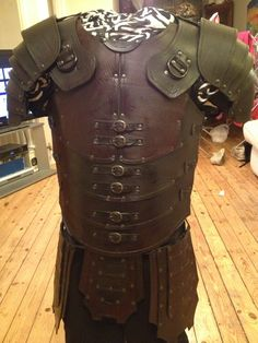 Leather armor.