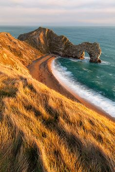 Sea shore (Dorset, England).