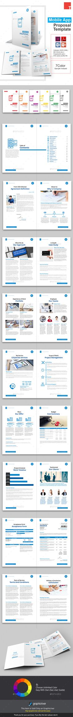 Sugercube InDesign Proposal Template for Business Proposal - purchase proposal templates