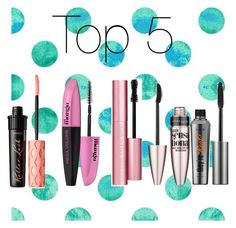 """Top 5 mascara's ever"" by forever-moe ❤ liked on Polyvore featuring beauty, Too Faced Cosmetics, L'Oréal Paris, Benefit and Maybelline"