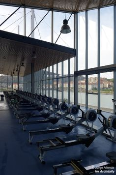 Sports Technification Centre For Rowing And Canoeing Orio / U.T.E. Atristain Begiristain