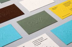 Royal West of England Academy by Spy, United Kingdom. #branding #businesscards