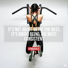 It's Not About Being The Best It's about being the most consist