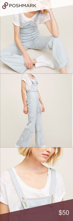 NWOT FP Show Me Off Overalls Brand new without tags Free People Show Me Off Overalls. Size 28. Perfect condition. Never worn. Still have shipping bag. Measurements listed above in photos. Free People Jeans Overalls