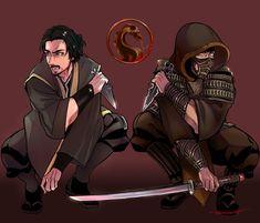 Scorpion Mortal Kombat, Mortal Kombat Art, V Games, Video Games, Mileena, Bloodborne, Creepy Art, Cultura Pop, All Star