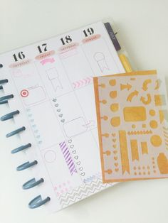 This planner stencil ($10) is an easy way to make consistent layouts. | 23 Bullet Journal Ideas That Are Borderline Genius