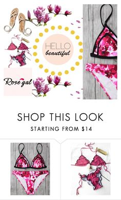 """""""Rosegal fashion"""" by songg ❤ liked on Polyvore"""