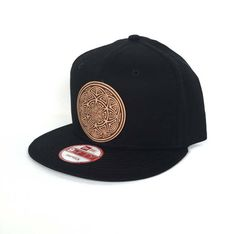 Seed of Life Mandala Snapback Hat - Black New Era Snapback Hat - Sacred  Geometry Hat 34243db6ce8