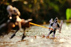 Awesome Star Wars photo using action figures