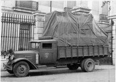 Traslado de obras de arte de Madrid a Valencia durante la Guerra Civil Española.