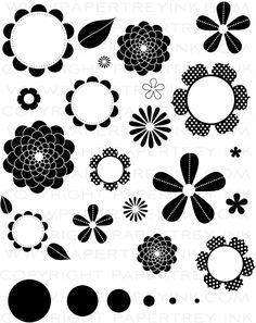 Beautiful Blooms II Stamp Set: Papertreyink